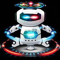 Танцующий робот Dancing Robot, Детская Игрушка робот, Робот Танцор, Робот интерактивный