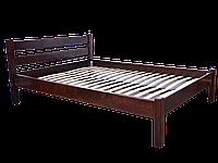 Кровать двуспальная Модерн 160*200, ольха массив