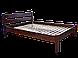 Кровать деревянная полуторная Милан 120*190/200, массив, фото 4