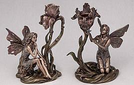Набір свічників Veronese Феї з бронзовим покриттям