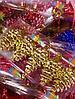 Елочная Игрушка Новогоднее украшение Шишка Заснеженная в Упаковке 5 шт 5 см Цвета В Ассортименте, фото 4