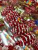 Елочная Игрушка Новогоднее украшение Шишка Заснеженная в Упаковке 5 шт 5 см Цвета В Ассортименте, фото 5
