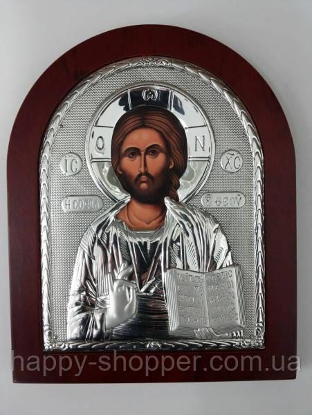 """Икона """"Господа Иисуса Христа"""" 19 х 16"""