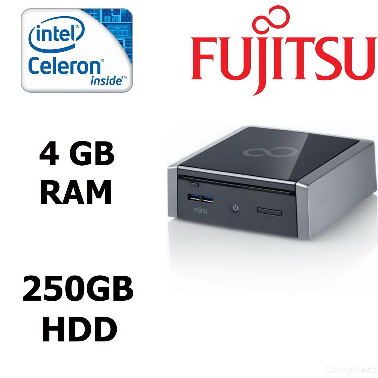 Fujitsu Simens Q900 USFF / Intel® Celeron® B800 (2 ядра по 1.5 GHz) / 4GB DDR3 / 250GB HDD / PCI 2.0