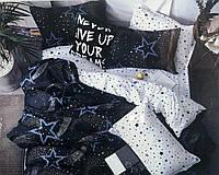 Комплект постельное белье  5D 150×200 полуторка