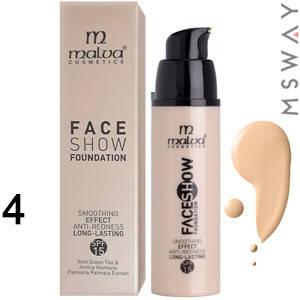 Malva -Тональный крем PM-4503 Fase Show SPF15 Тон 4 sand vanilla 30ml, фото 2