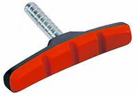 Колодки тормозные безрезьбовые черно-красные ALHONGA HJ-600.12T2G2