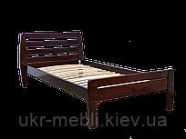 Кровать из дерева полуторная Вика 90*200
