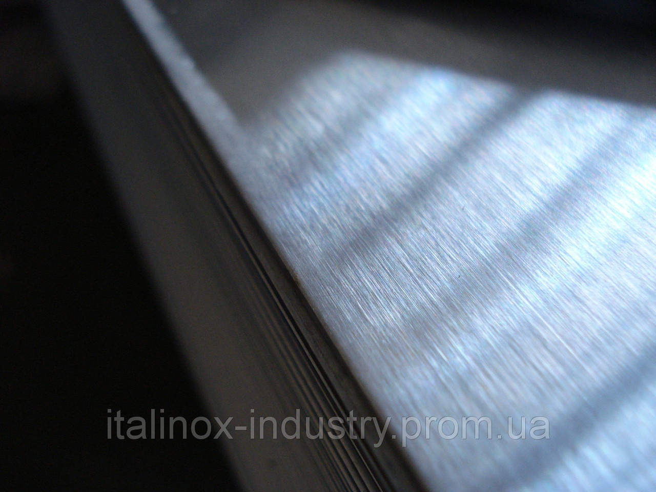 Шлифованный лист с пленкой 04Х17 1,0 х 1500 х 3000