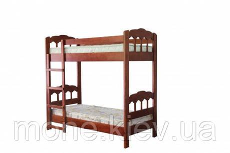 Кровать детская двухъярусная Капитошка , фото 2