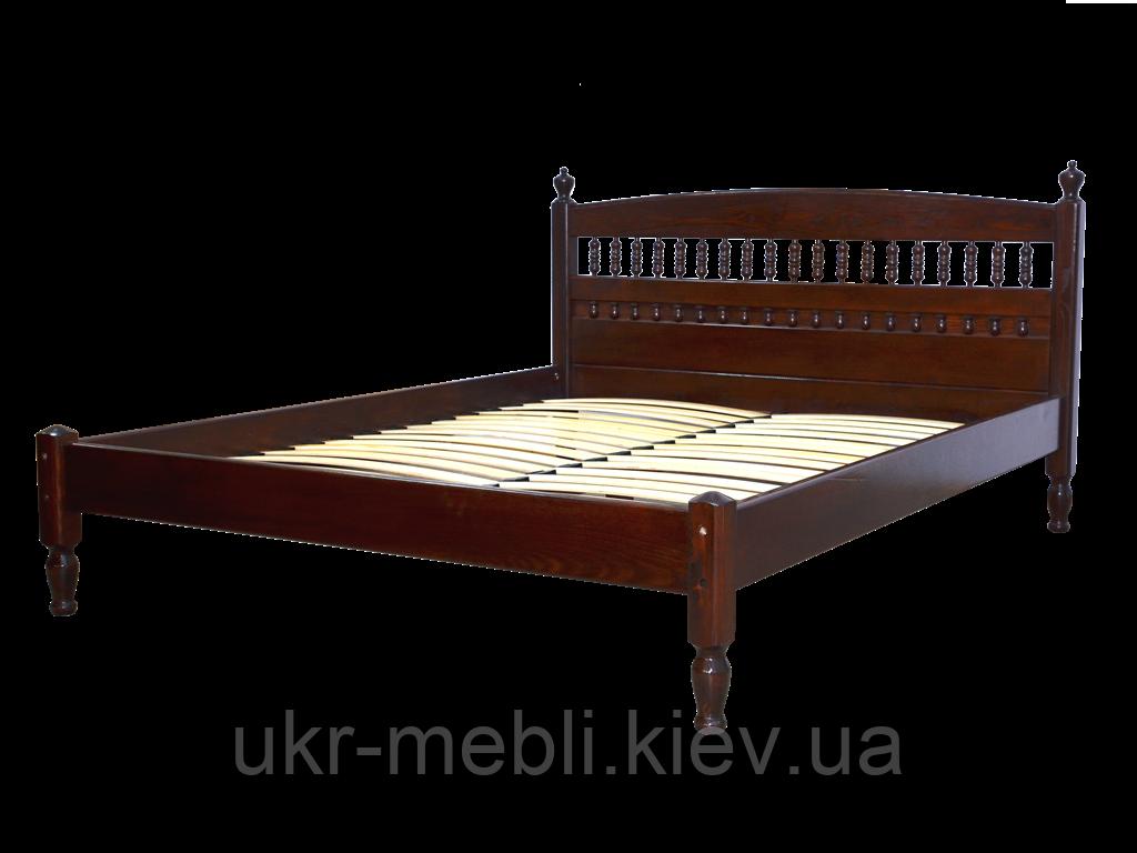 Кровать двуспальная деревянная Комфорт 160*200, Орион