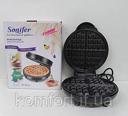 Вафельница Sonifer SF-6014 бельгийские вафли, фото 2