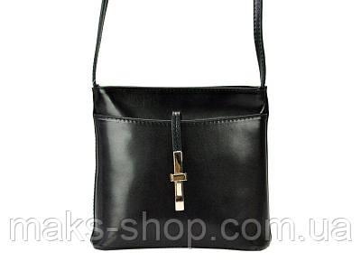 107f1e0b10a5 Женская кожаная сумка на плечо Borse Gianni 205 Черный: продажа, цена в  Киеве. женские сумочки и клатчи от