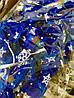 Новогоднее Украшение для Елки Аксессуар Бантики Вышиванка Парча Упаковка 20 шт Цвета в Ассортименте, фото 3