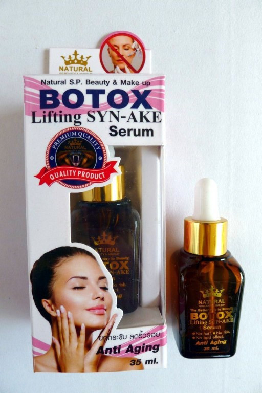 Омолаживающая лифтинг-сыворотка «Альтернатива Ботоксу» с пептидом змеи + коллаген Botox Lifting Syn-Ake Serum