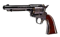 Пневматический револьвер Colt Single Action Army 45 Black Finish