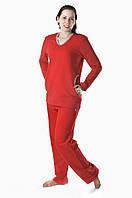 Красный женский спортивный костюм К 12