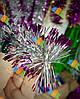Новогодняя Мишура Дождик Гирлянда Цвета в Ассортименте 3 м диаметр 5 см, фото 3