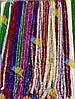 Новогодняя Мишура Дождик Гирлянда Цвета в Ассортименте 3 м диаметр 5 см, фото 5