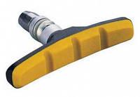 Колодки тормозные резьбовые черно-желтые ALHONGA HJ-600.12T3G2-YL