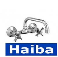 Смеситель настенный Haiba Zeus-361-G