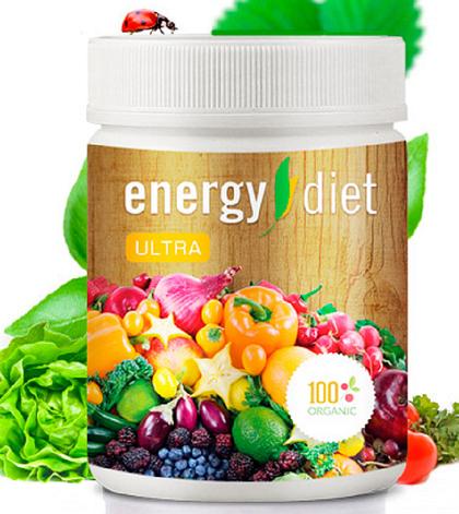 Energy Diet Ultra - Коктейль для похудения (Энерджи Диет Ультра), Банка, фото 2