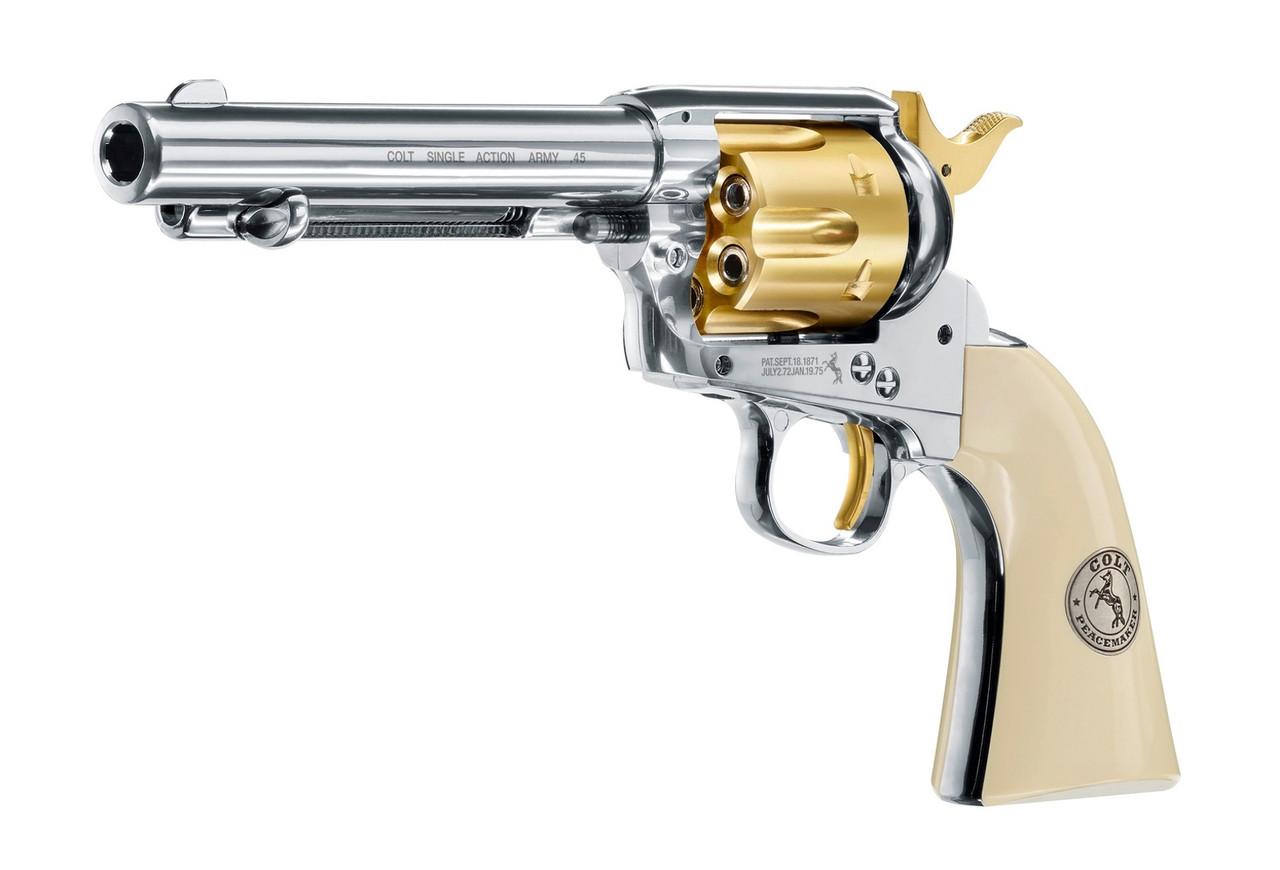 Пневматический револьвер Colt Single Action Army Gold Edition