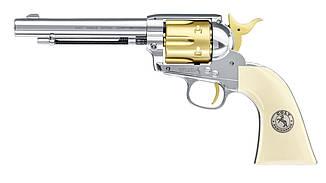 Пневматический револьвер Colt Single Action Army Gold Edition, фото 2