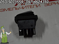 Кнопка включения/выключения зернодробилки Ярмаш пусковая клавиша с защитной оболочкой