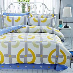 Комплект постельного белья Сердечко (полуторный) Berni Home