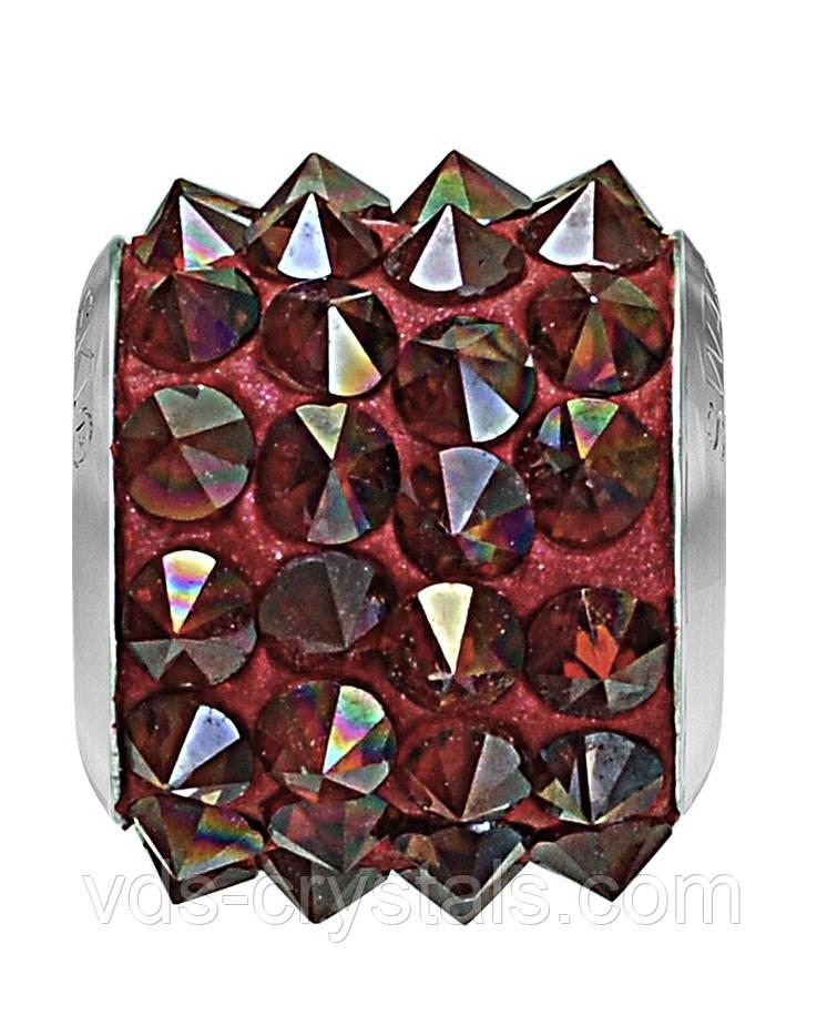 Бусины Swarovski пандора украшения 80901 Crystal Red Magma (001 REDM)