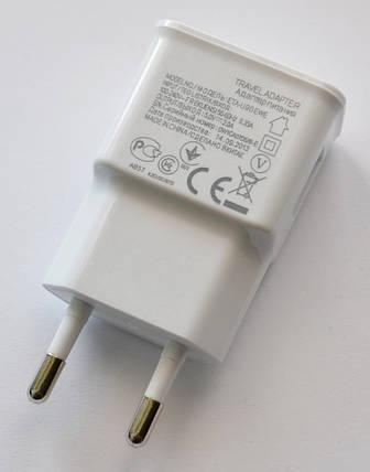 Универсальное сетевое зарядное USB 5v 2A, фото 2