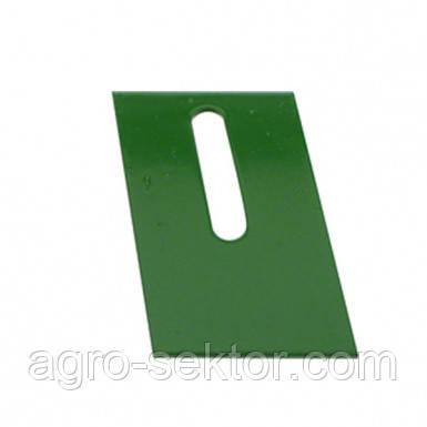 Чистик внешний диска сошника внесения удобрений A24085 GD1673, JD, Kinze