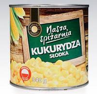 Консервированная кукуруза Nasza Spizarnia 340 g(Польша)