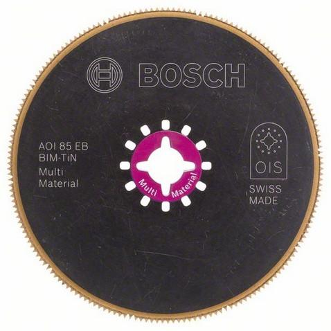 Сегментоване пиляльне полотно AOI 85 EB Multi Material BOSCH