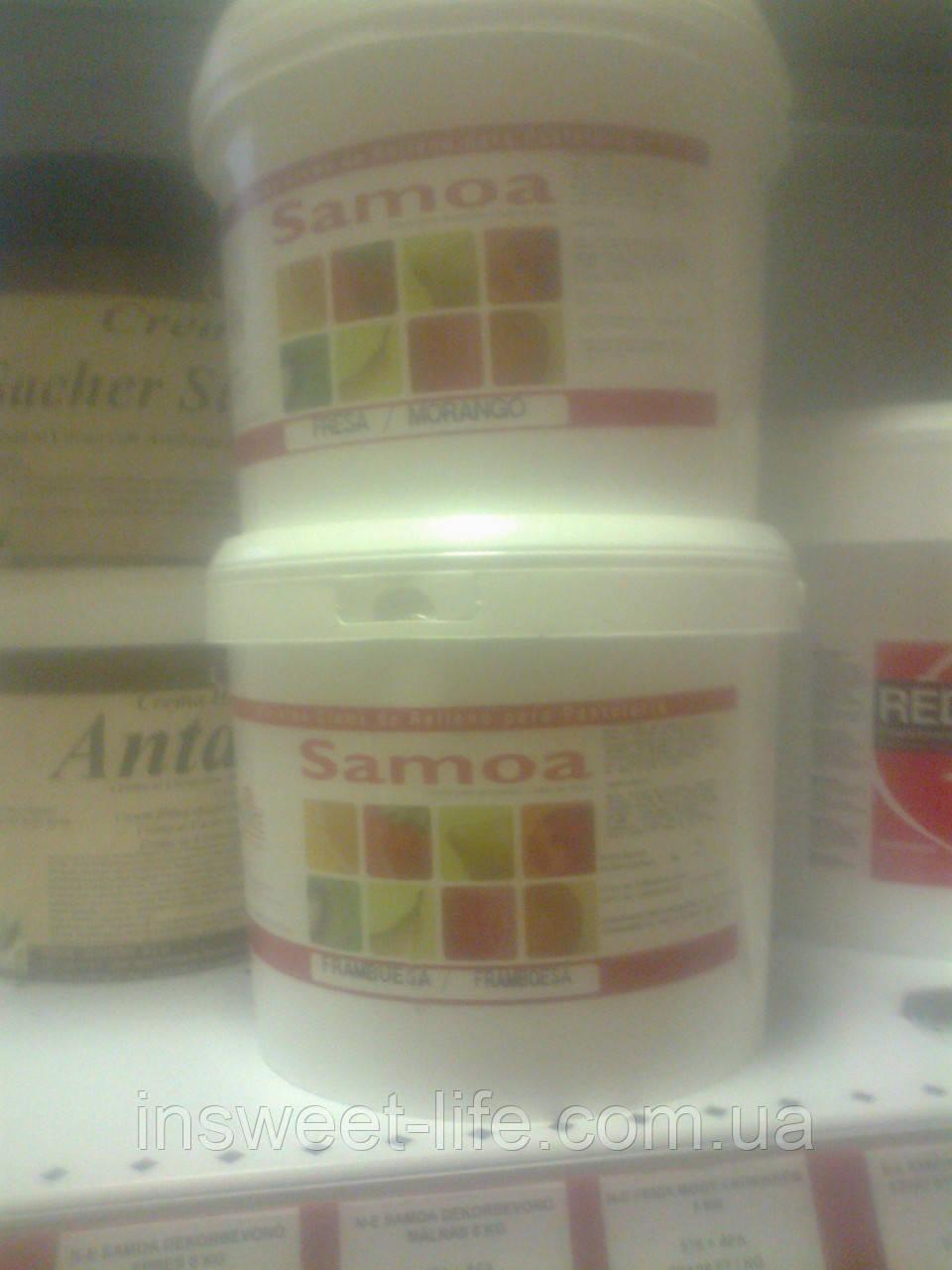 Кондитерский гель малина  N-E Samoa 6кг/упаковка