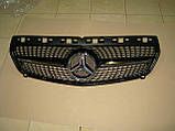 Решетка радиатора Mercedes A-class W176, фото 5