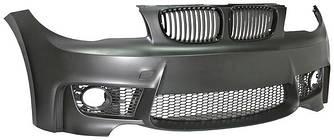 Бампер передний тюнинг обвес BMW E81 E82 E87 стиль M Sport Paket