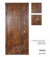 Входная дверь ЭКРИЗ дуб антик, двери Страж