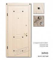 Входная дверь ЭКРИЗ венге светлый, двери Страж