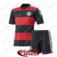 Футбольная форма  Германия красно-черная. Бразилия 2014