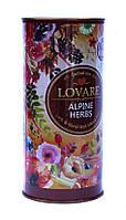 LOVARE. Альпийские травы. Травяной чай с фруктами, 80 г, картонная туба