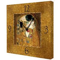 Настенные часы Поцелуй, Густав Климт