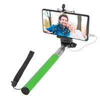 Селфі Палка з кабелем Defender Selfie Master SM-02 Green (29403)