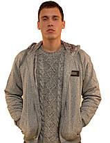 Кофта спортивная мужская на меху с капюшоном  Bikke sport, фото 3