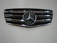 Решетка радиатора Mercedes E-class W211 2007-2009