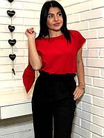 Пижама женская футболка и штаны с сумочкой