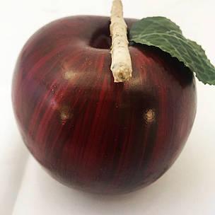Искусственное яблоко.Муляж яблока.Яблоко для декора., фото 2
