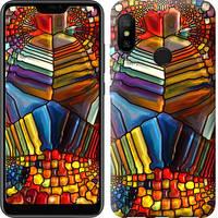 """Чехол на Xiaomi Mi A2 Lite Разноцветный витраж """"3343c-1522-328"""""""