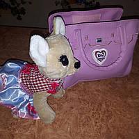 Собачка Кикки в сумочке музыкальная